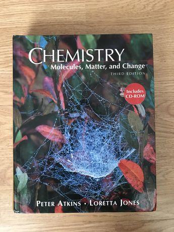 Chemistry Peter Atkins Angielska ksiazka