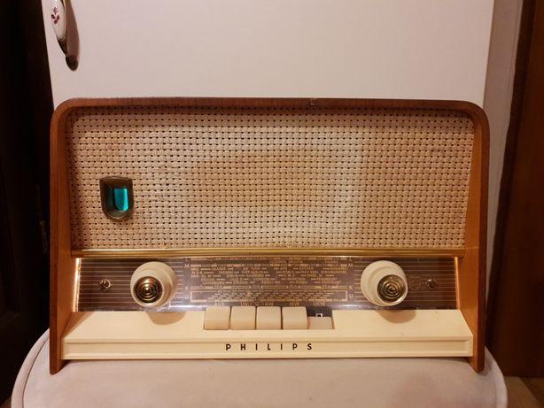 Radio lampowe Philips Philetta de Luxe 311 Wechselstorm 1961 rok