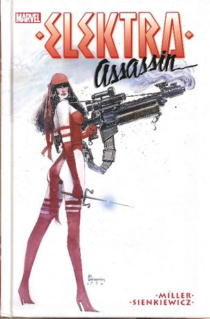 komiks MARVEL Elektra Assassin NOWY okładka twarda