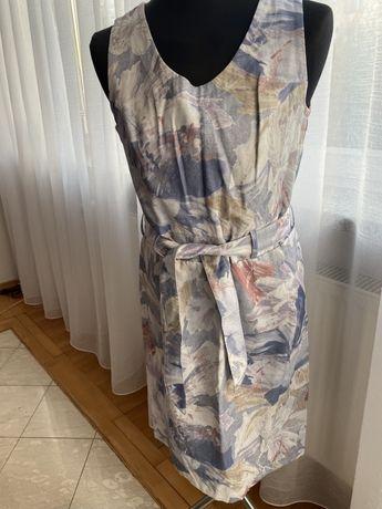 Elegancka sukienka kolorowa L/XL