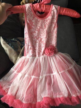 Sukienka balowa 4 5 6 lat tiulowa