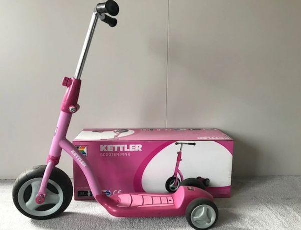 Kettler hulajnoga trójkołowa SCOOTER , pink