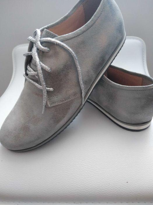 Sprzedam buty damskie wiosenne skórzane nowe Ciechanów - image 1