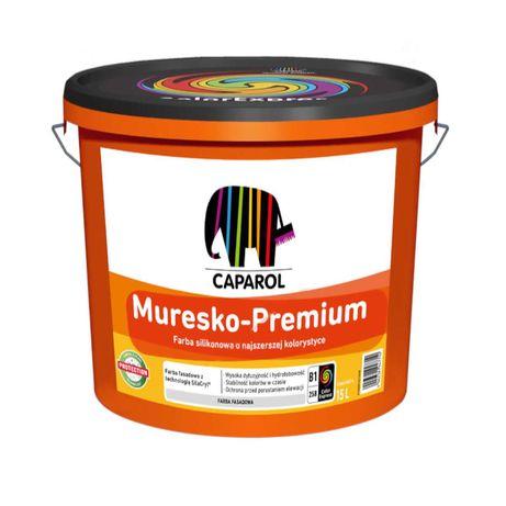 Caparol Muresko-Premium 15L Farba elewacyjna silikonowa