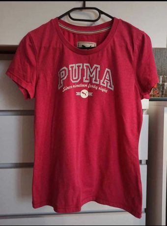 Koszulka T-Shirt Puma różowa M