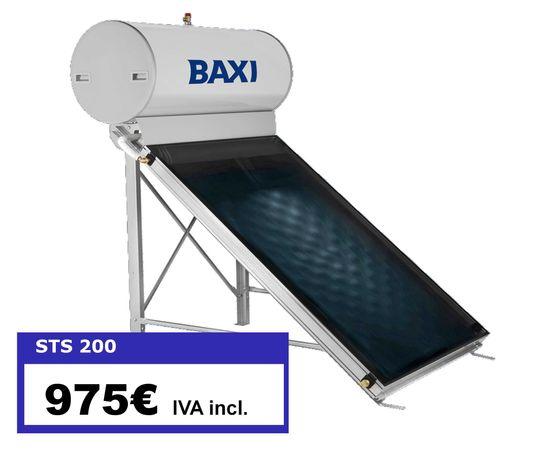 Painel Solar Termossifão BAXI 200 Litros Vitrificado