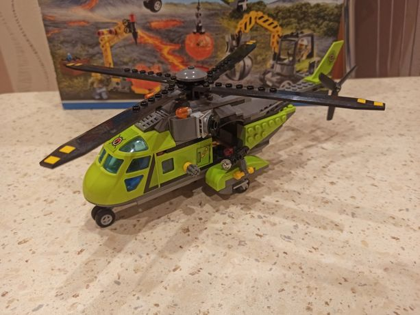 Lego 60123 City Wulkan helikopter dostawczy