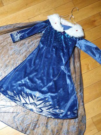 Piękna sukienka na bal przebierańców. Elza