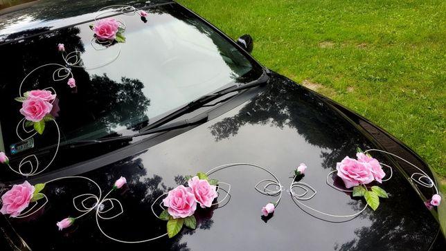 Dekoracja samochodu Ślubnego Auta Kolory