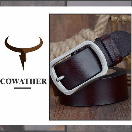 Мужской Кожаный Ремень COWATHER CY002 из натуральной кожи