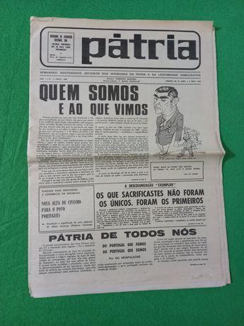 Jornal Pátria N 1