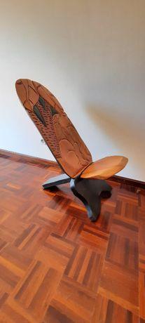 Cadeira Madeira, Indígena Senegal