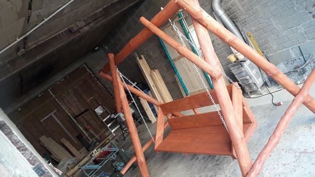 Huśtawka ogrodowa drewniana idealna