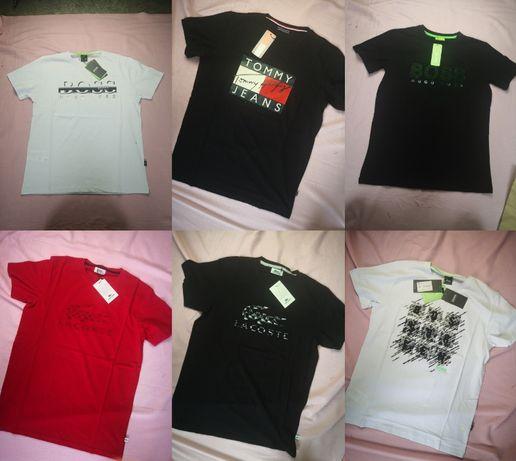 Koszulki koszulka męska Lacoste Hugo Boss Tommy Hilfiger nowość
