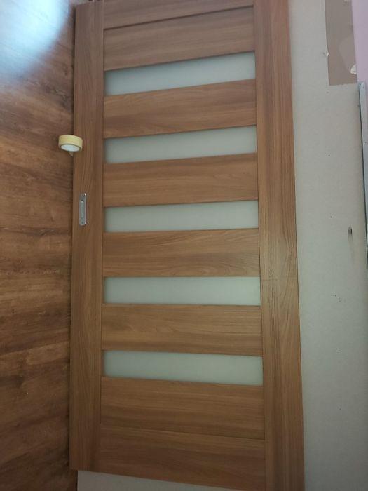 Drzwi przesuwne z mechanizmem i maskownicą Wodzisław Śląski - image 1