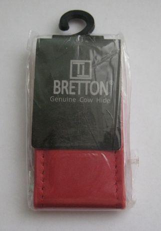 Кошелек Зажим для денег Bretton Натуральная кожа Новый