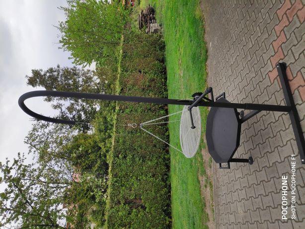 grill ogrodowy podnoszony palenisko