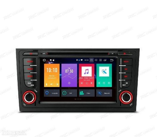 AUTO RADIO GPS ANDROID 10 AUDI A6 4B 97-04 ALLROAD 99-05