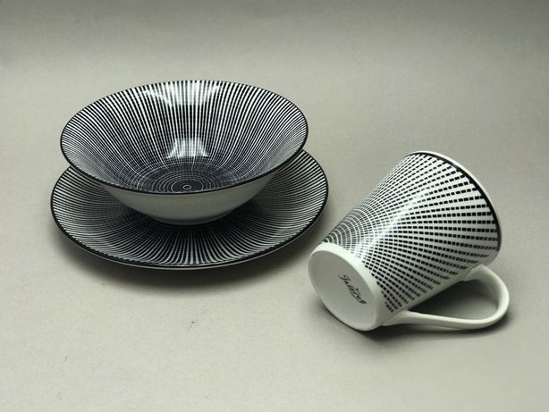 Набір посуду \ Набор тарелок \ 3в1 тарелка, миска , кружка