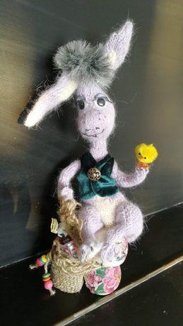 """Сувенір """"Кролик із курчатком"""""""
