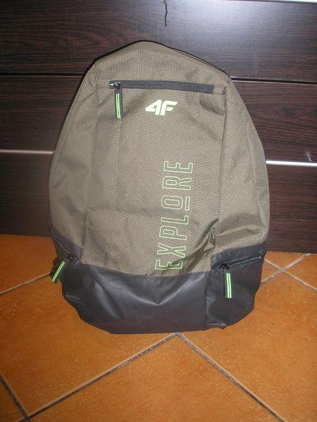 Plecak szkolny chłopięcy 4F