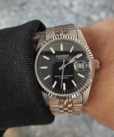 Zegarek automatyczny Cadisen 38mm szafir, jubilee, jak rolex datejust