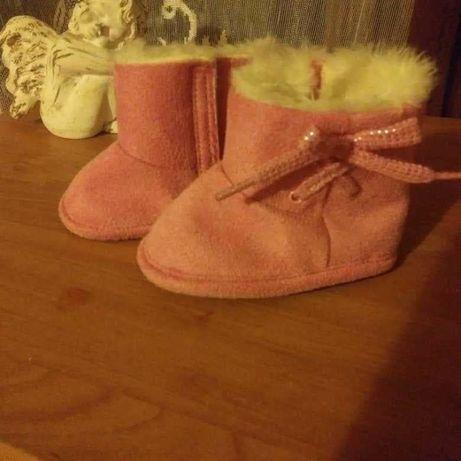 Buty niechodki zimowe