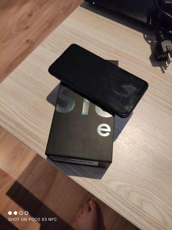 Samsung Galaxy s10e Prism-Black 128/GB