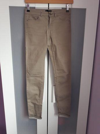 Beżowe spodnie H&M roz 36
