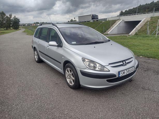 Peugeot 307 Benzyna 1.6 16v  Klimatyzacja 2 Kpl Opon