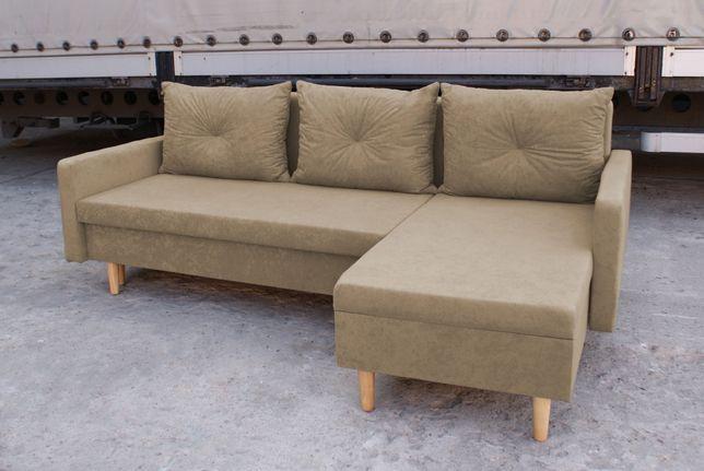 Narożnik Hermes Kanapa Sofa rogówka z funkcją spania