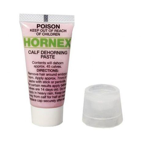 Hornex-pasta do dekornizacji cieląt.