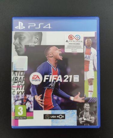 Fifa 21 PS4 como novo