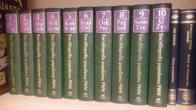 Sprzedam Encyklopedie popularną PWN, 10 tomów (komplet)