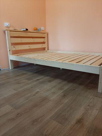 Кровать деревянная комфорт 160х200 ліжко деревянне.