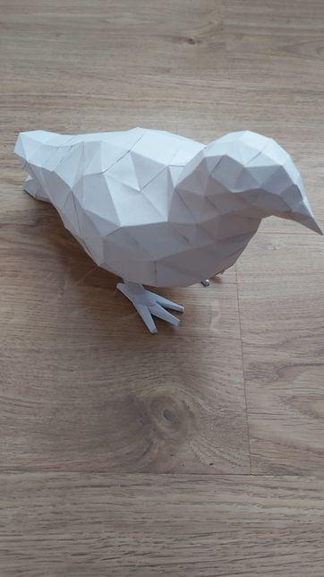 Model ptaka z papieru