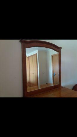 Vendo espelho  madeira cerejeira