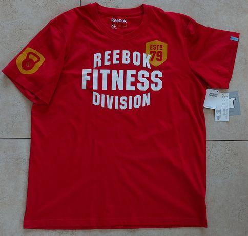 Oryginalny T-shirt Reebok Fitness Division/koszulka r.XL NOWY