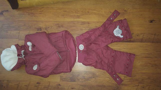 Kurteczka + spodnie r 74
