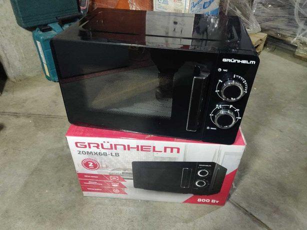 Микроволновка черная - 20MX68-LB 20л, 800 Вт, GRUNHELM Успей купить!