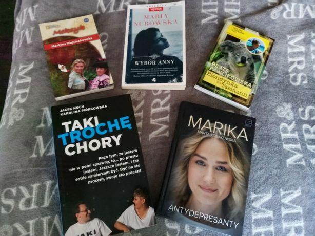 Książki Pakiet Meksyk Blondynka na Tasmanii Antydepresanty Wybór Anny
