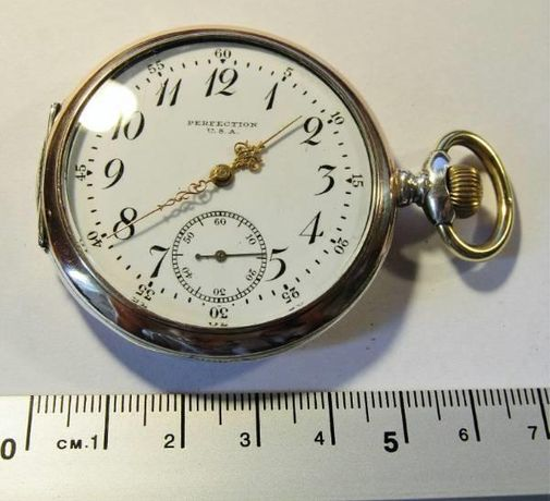 zegarek kieszonkowy z prawdziwego srebra 0,800