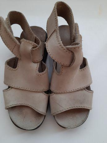 босоножки 29 р. кожаные ортопедическая летняя обувь детская