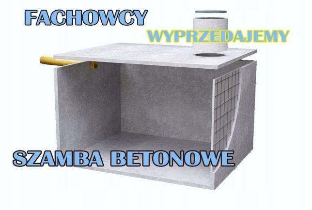 Szamba betonowe Szambo zbiornik 14 na deszczówkę gnojowicę 6m3 8 10 12