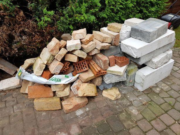 Cegły i bloczki za darmo całość