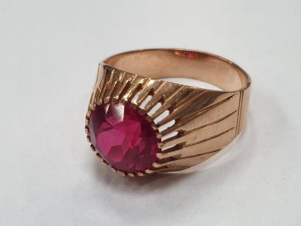 Piękny złoty pierścionek damski/ Radzieckie 583/ 6.87 gram/ R23/ sklep