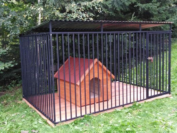 Kojce Klatki Boksy Kojec dla psa 4x3m
