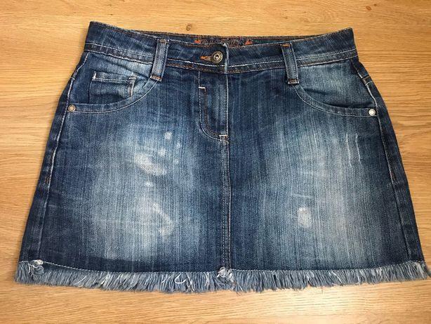 Джинсовая юбка CHEROKEE на 11-12 лет, рост 152 см