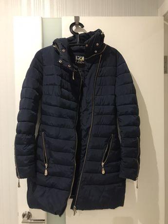 Продам женский пальто-пуховик, размер S