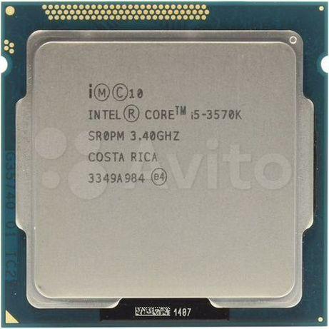 Комплект: мат.плата+I5 3570k+8G DDR3 1600.